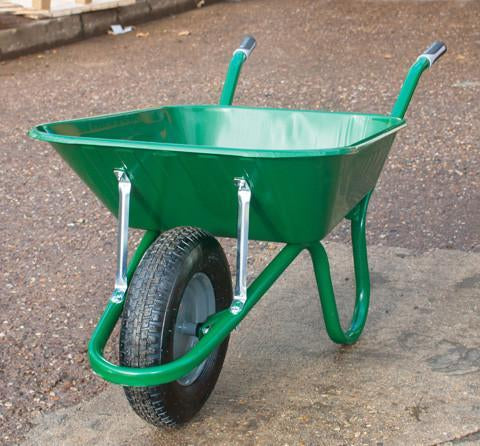 Haemmerlin Green 90L Wheelbarrow