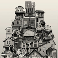 "Archival Pigment Print -- New ""Affordable Housing"" -- Photomontage -- Limited Edition Fine Art Print -- Photo Collage"
