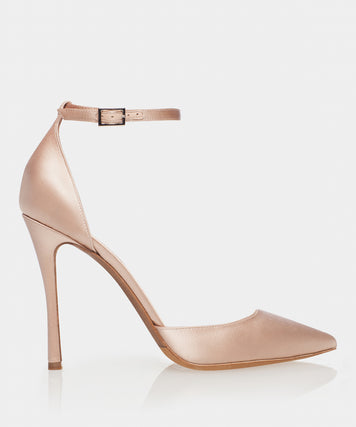 Alhambra Rose Satin Point Toe Pump