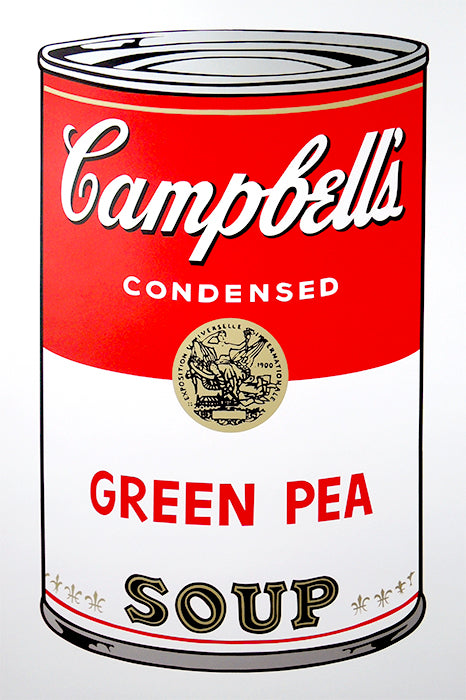 Campbell's Soup Can - Green Pea