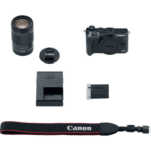 Canon EOS M6 Mirrorless Digital Camera with 18-150mm Lens