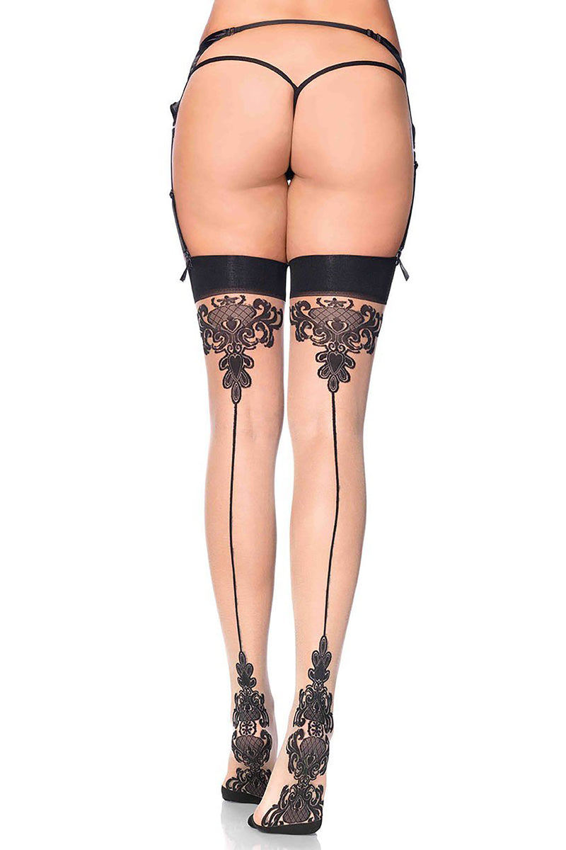 Baroque Backseam Stockings