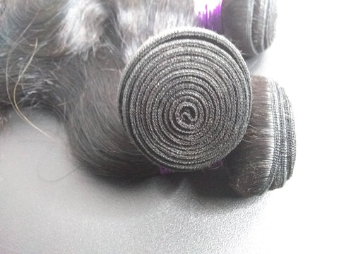 Image of Purple Label Virgin Remy Bodywave Hair 1pc. - SilkyHairShop.com