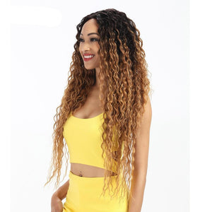 Katia Long Deep Wave Lace Part Wig