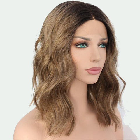 Image of Ayesha Water Wave Ombre Lace Front Long Bob - 2 colors - SilkyHairShop.com