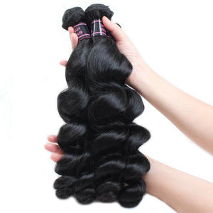 Brazilian Virgin Loose Wave 4pcs.