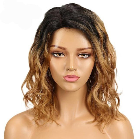 Elisa Lace Part Human Hair Wig - SilkyHairShop.com