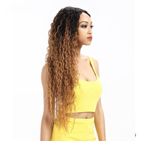 Image of Katia Long Deep Wave Lace Part Wig - SilkyHairShop.com