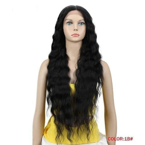 Ella Long Wavy Lace Part Wig - 4 colors