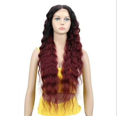 Image of Ella Long Wavy Lace Part Wig - 4 colors - SilkyHairShop.com