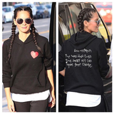 CHLA: Butterfly Effect - Heart Pullover Hoodie (Unisex - as seen on Olivia Munn)