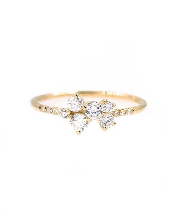 Nest of Diamonds Ring