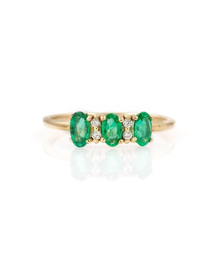 Emerald Princess Ring