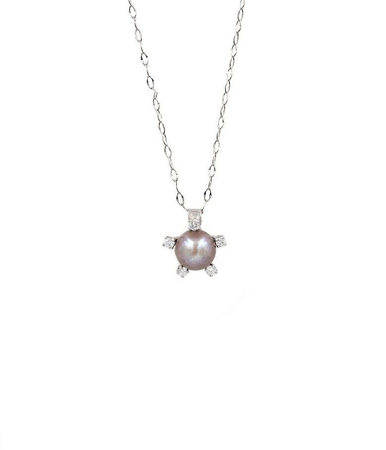 Pearl Diamond Necklace