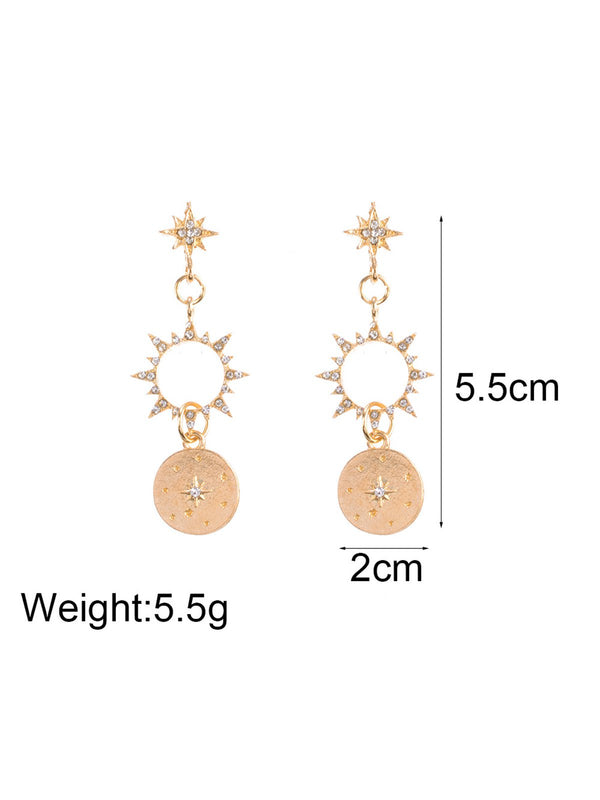 As Picture Earrings