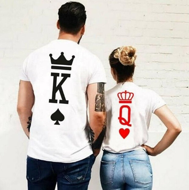 New KING/QUEEN - Matching Couple T-shirts