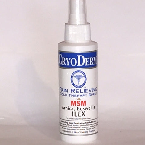 CryoDerm Pain Relieving Spray 4 Oz