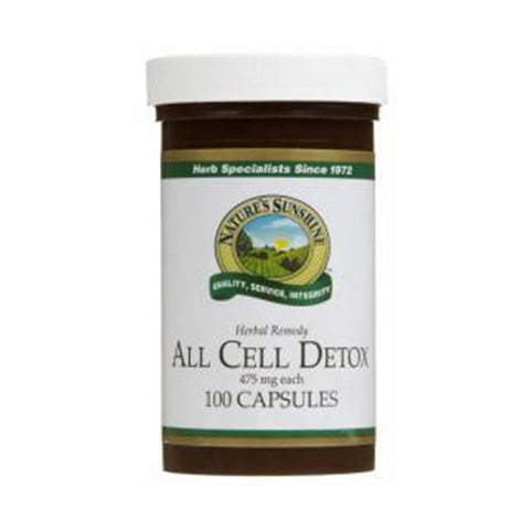 All Cell Detox 100 Capsules