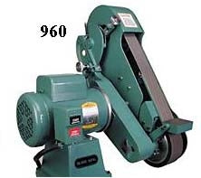 Burr King 2 Wheel Horizontal Vertical 960 Belt Grinder
