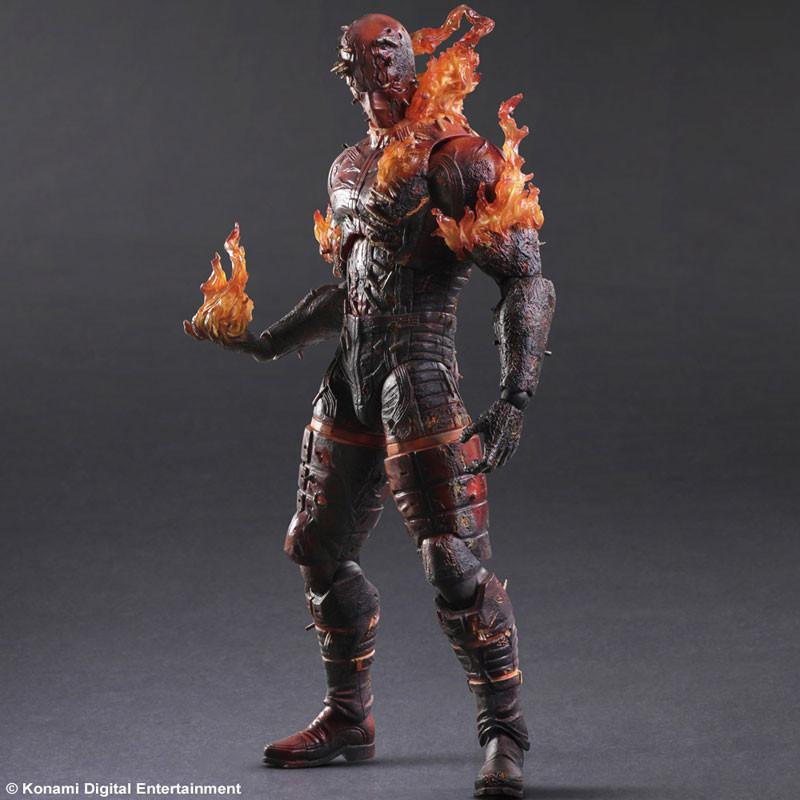 Metal Gear Solid V: The Phantom Pain - Play Arts Kai - Man on Fire
