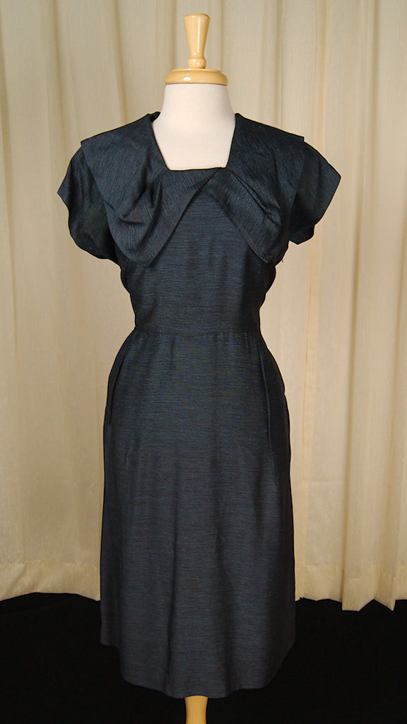 1950s Striped Sailor Dress by Vintage Collection by Cats Like Us - Cats Like Us