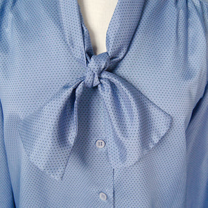 80s does 1940s Violet Blouse