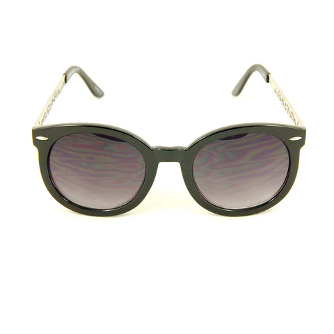 Cats Like Us Blk Silver Abstract Sunglasses for sale at Cats Like Us - 1