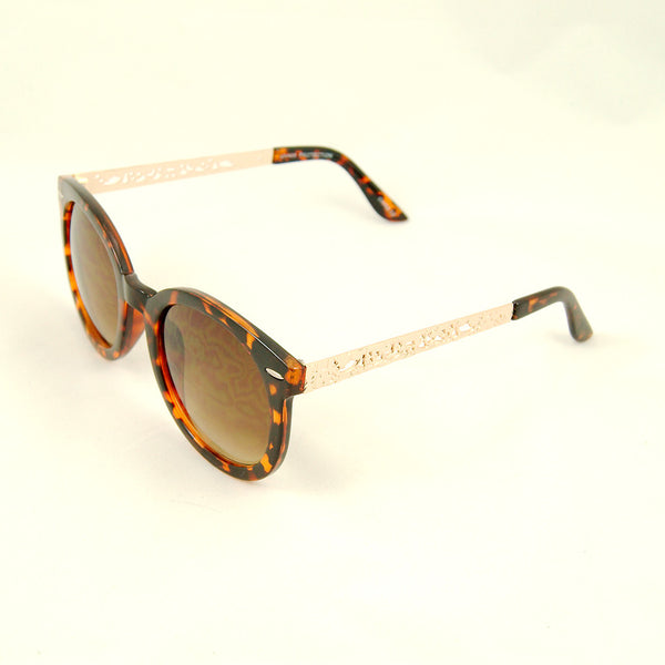 Cats Like Us Tort Gold Abstract Sunglasses for sale at Cats Like Us - 2