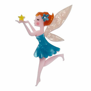 A Fairy Wish Brooch by Erstwilder - Cats Like Us