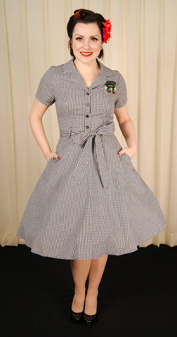 Gingham Gal Shirt Dress
