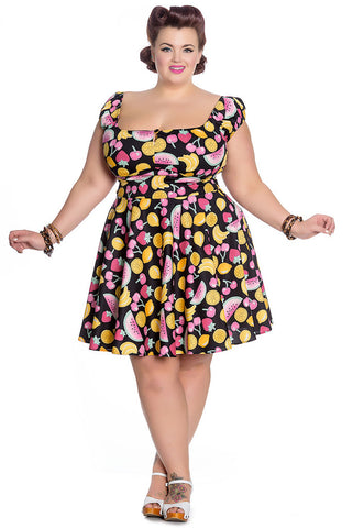 Tutti Frutti Mini Dress - Cats Like Us