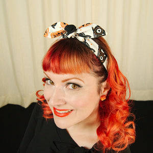 Tan Halloween Hair Tie by Krampus Cuties : Cats Like Us