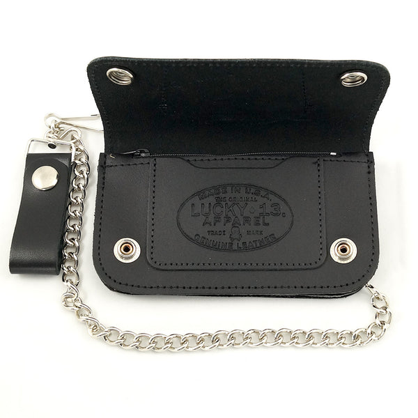 Slobber Rat Chain Wallet by Lucky 13 : Cats Like Us