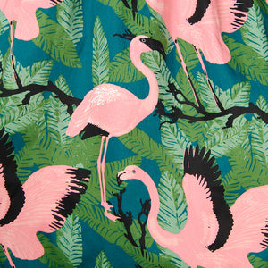 Emma Flamingo Swing Skirt