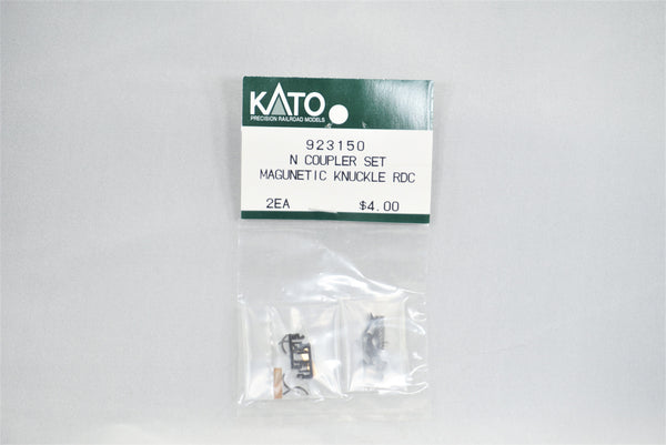 KAT 923150 - Magnetic knuckle coupler set - Black - RDC
