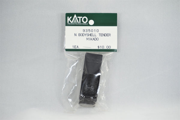 KAT 935010 - Tender body shell - Mikado - Black