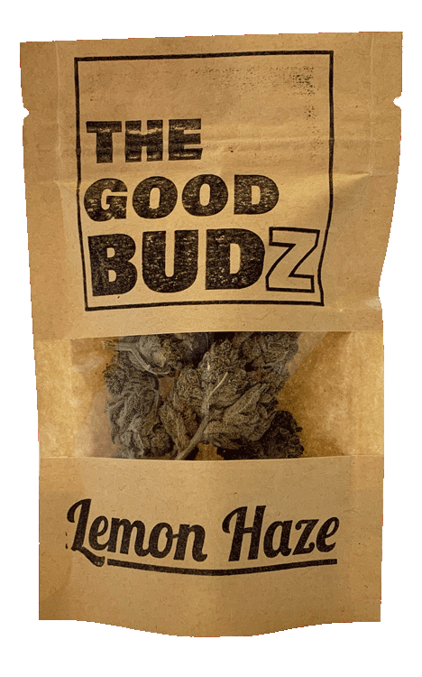 """Lemon Haze"" Hemp Flowers UK - The Good Budz"