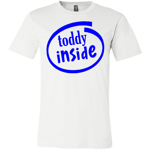 "3001C Bella Canvas Unisex Jersey Short-Sleeve T-Shirt - ""Toddy"""