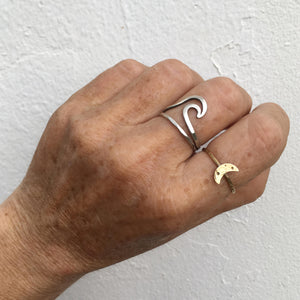 Crescent-Moon-Ring-Brass-Shown-On-Hand