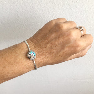 Simple-Abalone-Cuff-Shown-On-Wrist-by-SpecialJCreations