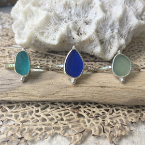 Sea Glass Ring • Size 7