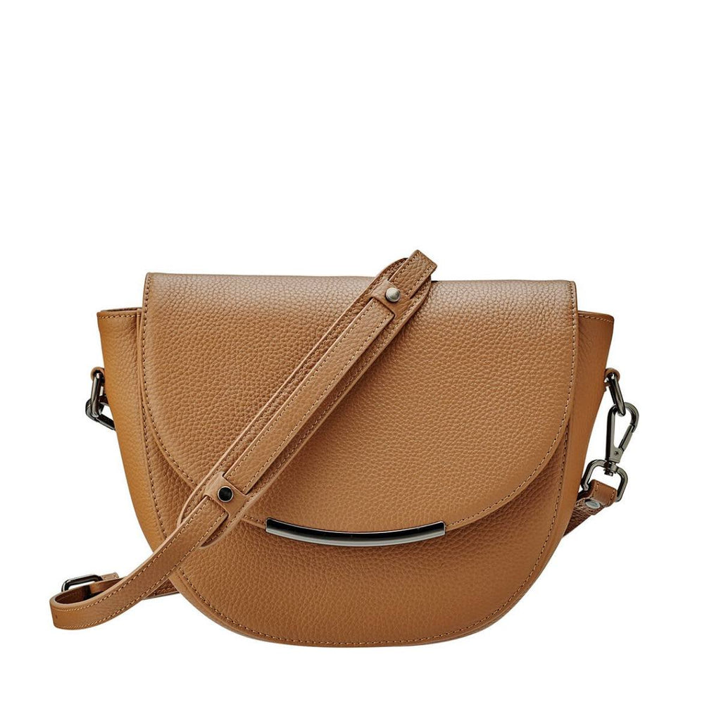 Status Anxiety The Oracle Leather Bag (Tan)