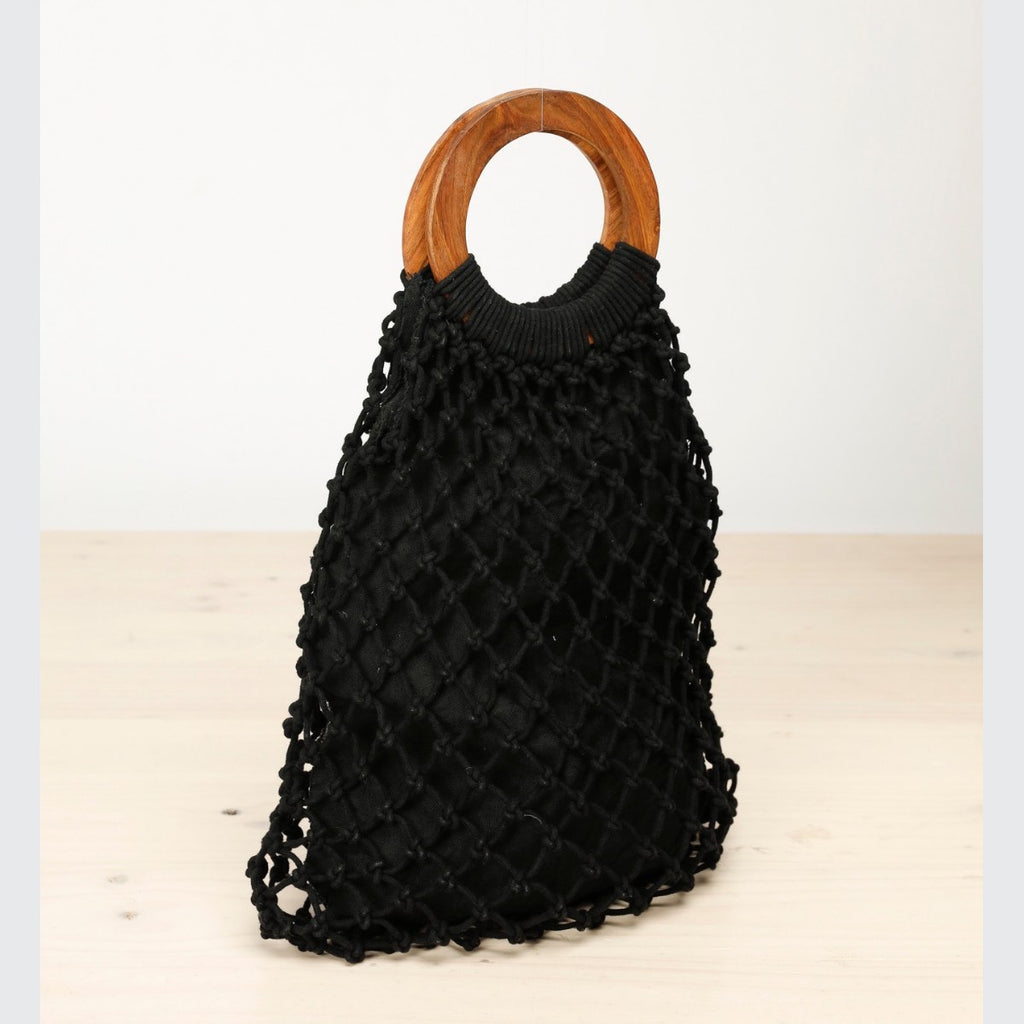 Gordo String Bag (Black)