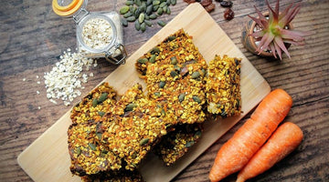 Spiced carrot energy bars