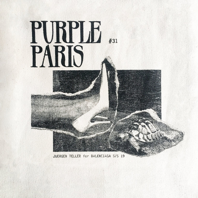 The Purple Paris Bag