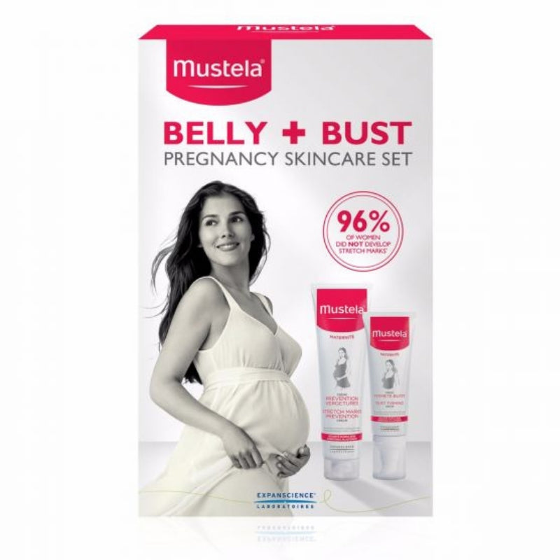 Belly & Bust Pregnancy Skincare Set