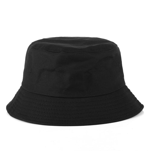 Black White Hat Fishiing Bucket Hat Korean Hip Pop Streetwear Men Women Bucket Girls Outdoor Hiking Hunting Hat Unisex Sun Cap