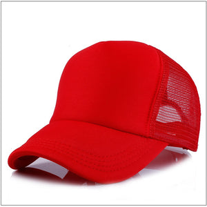 Factory Price! Free Custom LOGO Design Cheap 100% Polyester Men Women Baseball Cap Blank Mesh Adjustable Baseball Hat