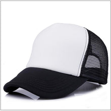 Load image into Gallery viewer, Factory Price! Free Custom LOGO Design Cheap 100% Polyester Men Women Baseball Cap Blank Mesh Adjustable Baseball Hat
