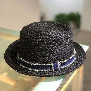 2018 New Spring Summer Raffia Straw Fedoras Fashion Bowler Felt pork Pie Hat for Men Women Fedora Hat